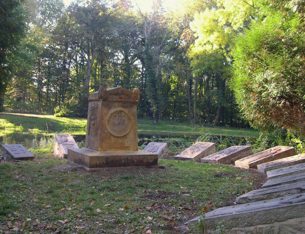 Schloß Bodenburg Gedenksteine
