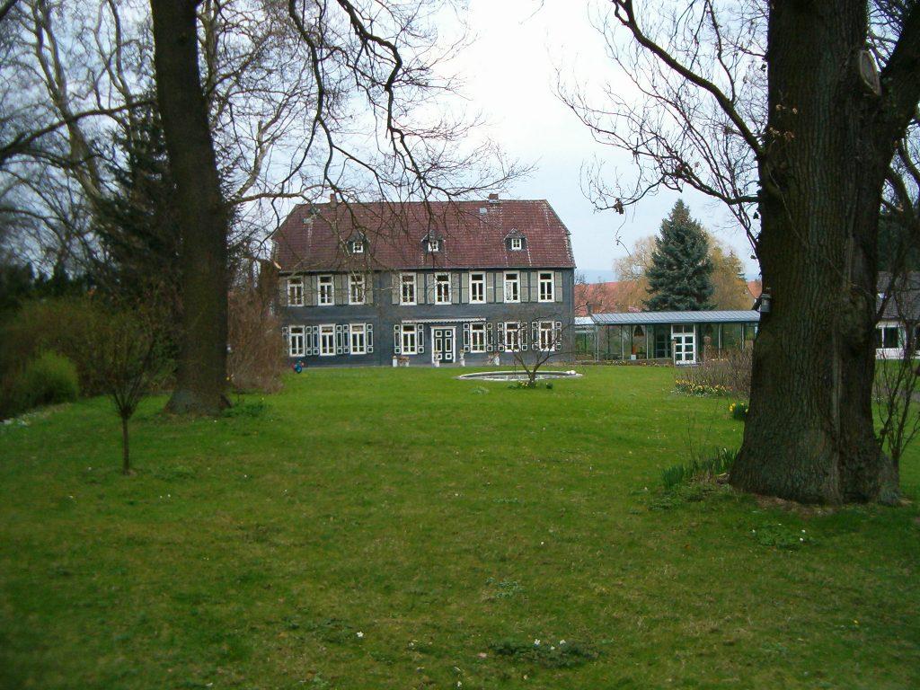 Blick auf das Gutshaus Groß Vahlberg