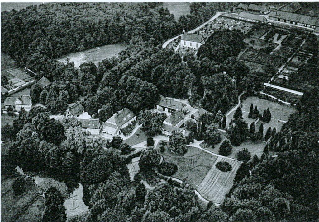 Klostergut Hude Luftbild um 1930