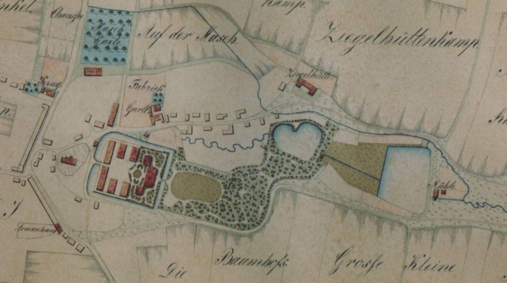 Plan um 1824