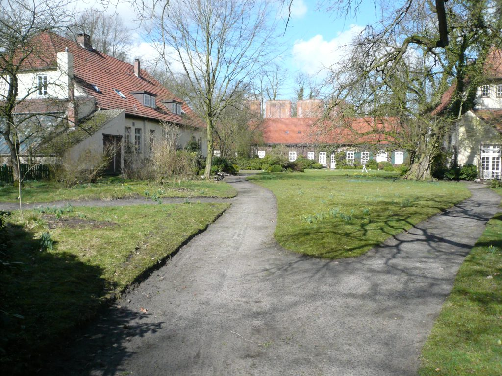 Klostergut Hude wiederhergestellte Wege